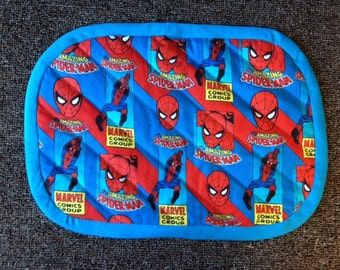 Spiderman Placemats. 2 sets of 4.