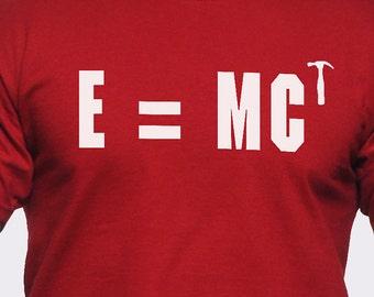 E Equals MC Hammered T-Shirt