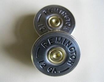 Guitar Knobs 2 Remington Nickel Shotgun Shell