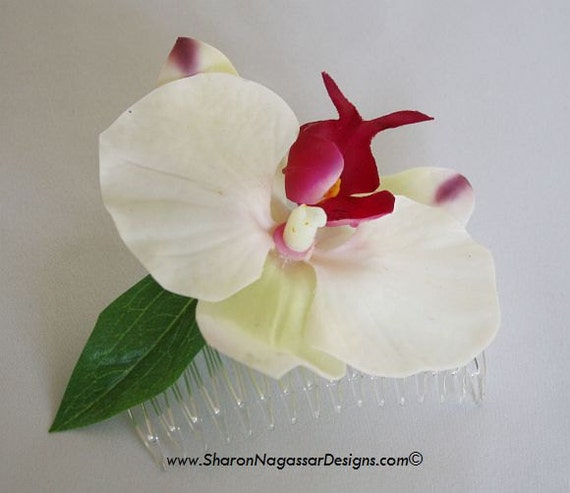 Fresh Orchid Hair Pieces 54
