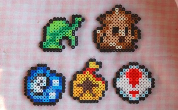 Items Similar To Animal Crossing New Leaf Perler Bead