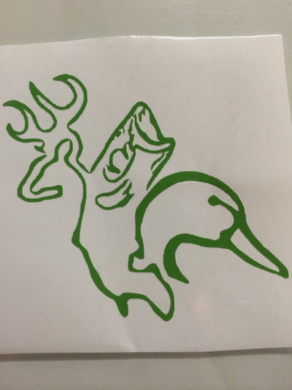 Items similar to hunting and fishing decal on etsy for Hunting and fishing decals