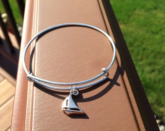 Sailboat Charm Bracelet