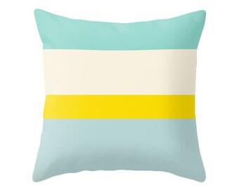 Decorative pillow Striped throw pillow stripes pillow stripes throw pillow stripes cushion cover striped pillow striped cushion Latte Home