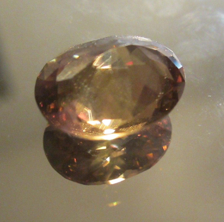 Golden Zircon 643 Ct 12 X 10 Calibrated Clean Mindblowing