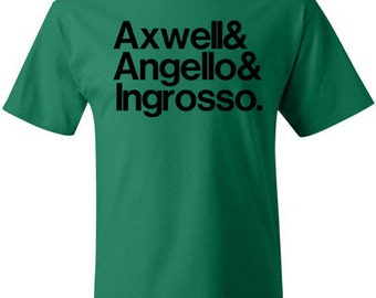 SWEDISH HOUSE MAFIA T-shirt Soft Ringspun Cotton by Hanes Axwell Sebastian Ingrosso Steve Angello House Music WMc Ultra Festival Concert