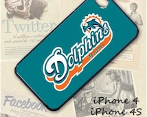 Dolphins cell phone Case / Cover for iPhone 4, 5, Samsung S3, HTC One X, Blackberry 9900, iPod touch 4 / 576