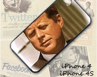 John F. Kennedy cell phone Case / Cover for iPhone 4, 5, Samsung S3, HTC One X, Blackberry 9900, iPod touch 4 / 290