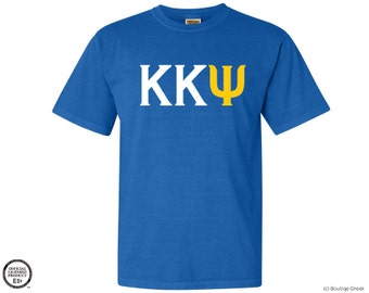 KKY Kappa Kappa Psi Letters Fraternity Tshirt