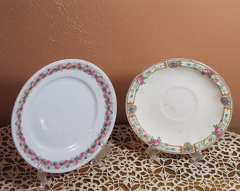 Two (2) Vintage Plates