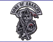 Sons of Anarchy  Reaper Logo Embroidered Road Gear Patch