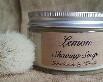 Lemon Shaving Soap 180g Jar
