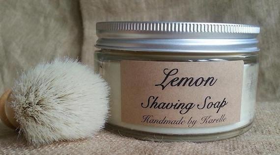 Lemon Shaving Soap 180g Jar