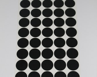 Vinyl Polka Dots - 1 inch Vinyl Polka Dots, Pick Your Color for Crafts and Wall Decorating