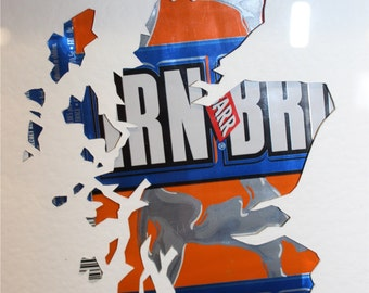 Recycled can Map