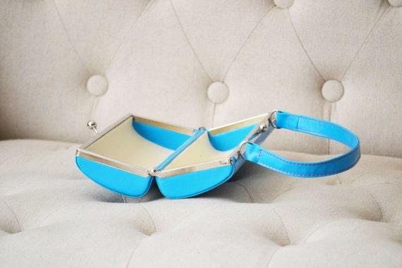 Vintage Blue Purse