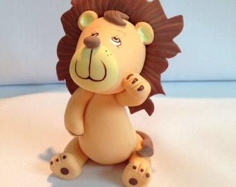 Jungle theme cake toppers