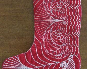art-exp-xxx formats Mini Feather Christmas Stocking 02