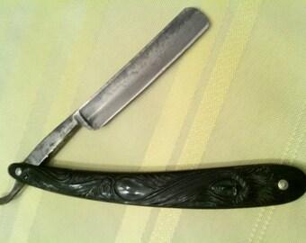 Original Union Razor  Tidioute, Pa / Ka Bar Straight razor   T-0003