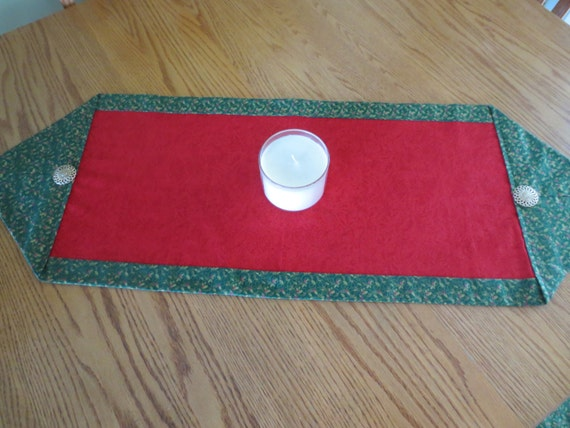 Items similar to christmas 10 minute table runner on etsy for 10 min table runner