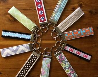 Fabric Wristlet Keyfob
