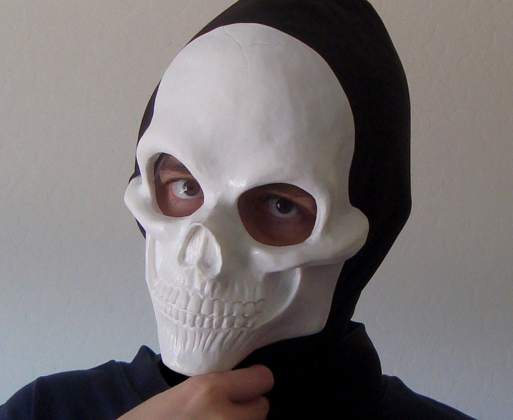 human skull face mask blank by rednebulacosplay on etsy