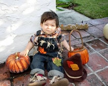 infant/toddler scarecrow costume outfit