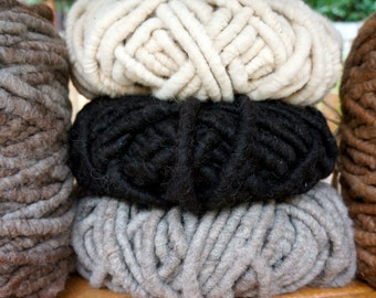Pure Alpaca Rug Yarn for Weaving