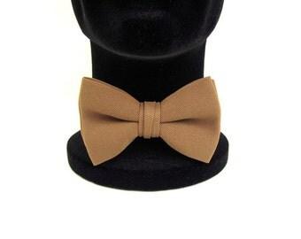 Mustard Bow Tie