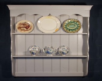 Shabby Chic Plate Rack Welsh Dresser Farrow Ball Elephants