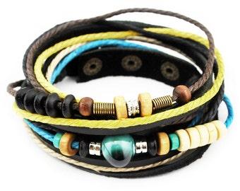axy wrap bracelet TWIC13-5! Leather Bracelet