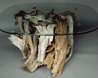 Driftwood Coffee Table. Handmade From Reclaimed Driftwood
