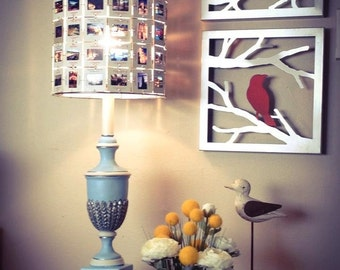 Handcrafted 35mm Slide Lamp Shade