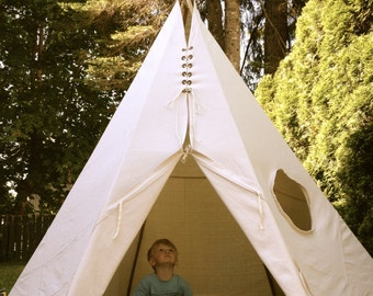popular items for teepee tipi on etsy. Black Bedroom Furniture Sets. Home Design Ideas