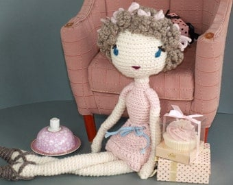 "Crochet Pattern Doll ""Jessy"" PDF"
