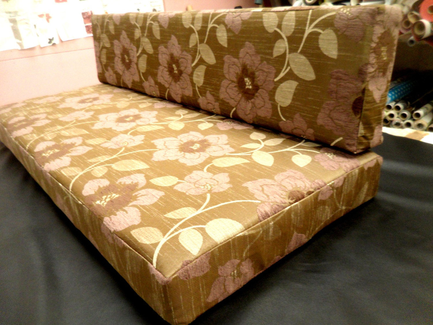 Custom Bench Seat Cushion 55 X 25 X 5 Use By Upholsterysupplieslt