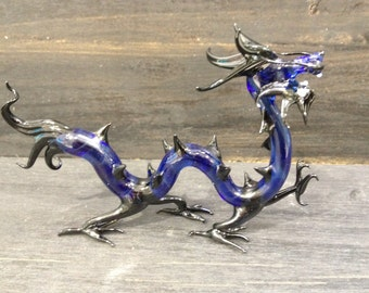 Chinese Dragon glass