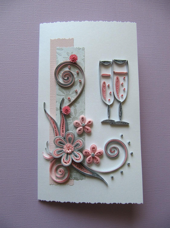 wedding anniversary birthday handmade greeting card