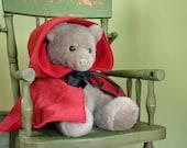 Little Red Riding Hood cape for children