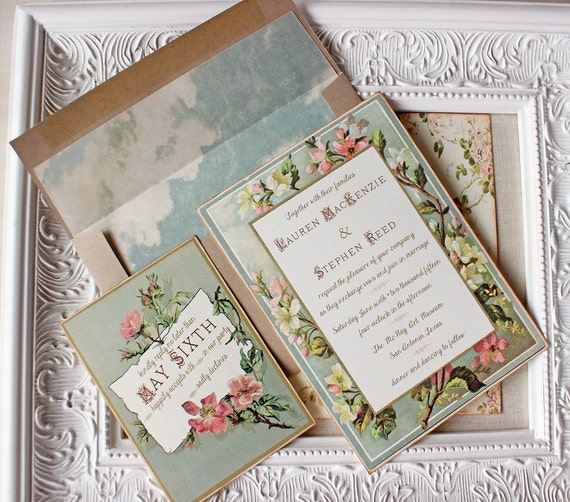 pink and gold wedding invitations vintage floral wedding invitation pink and gold wedding 6559