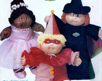 Butterick 6935 CABBAGE PATCH KIDS Halloween Costumes 1984 also issued as Butterick 344