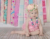 Fabric Strips Photo Prop, Garland.  Choose Theme. Tassel Rag Tie. By the Foot. Wedding Decoration, Party, or Nursery.