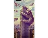 iPhone 6 Case, Sloth, Slothzilla, Hard Case