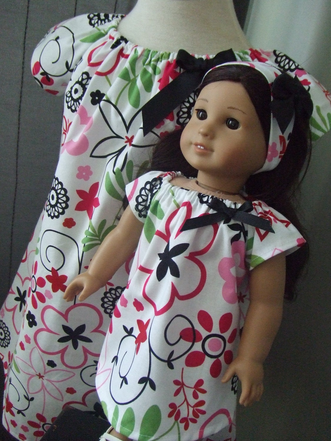 Home>Doll Dress Ups>Child and Matching Doll Dress Sets We've created discounted sets for little girls to dress up to match their dolls! Comfortable Princess Dresses for girls and durable dresses for 18