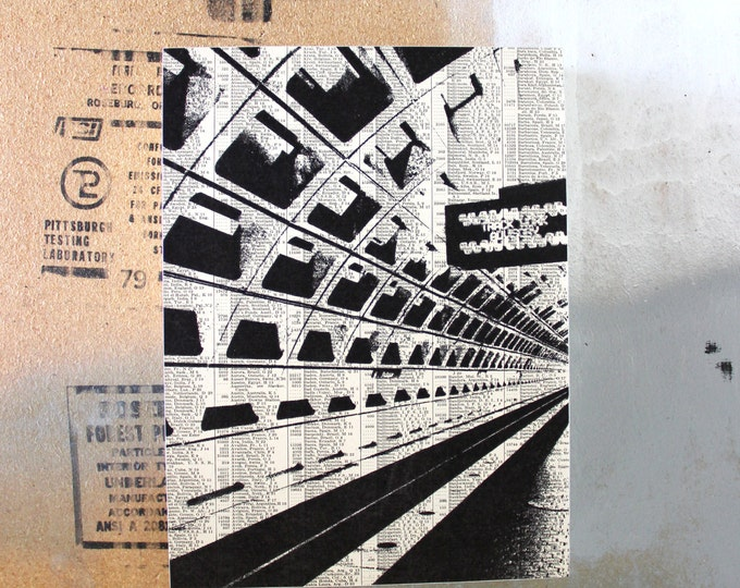 Washington DC Atlas Page Print - Subway