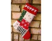 Custom Listing for Della - 2 x Christmas Stockings Personalised with Names