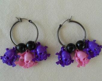 Fashion Skull Earrings