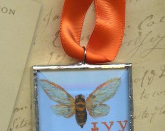 Ornament - Cherokee Language Series -  Sogigi = Cicada
