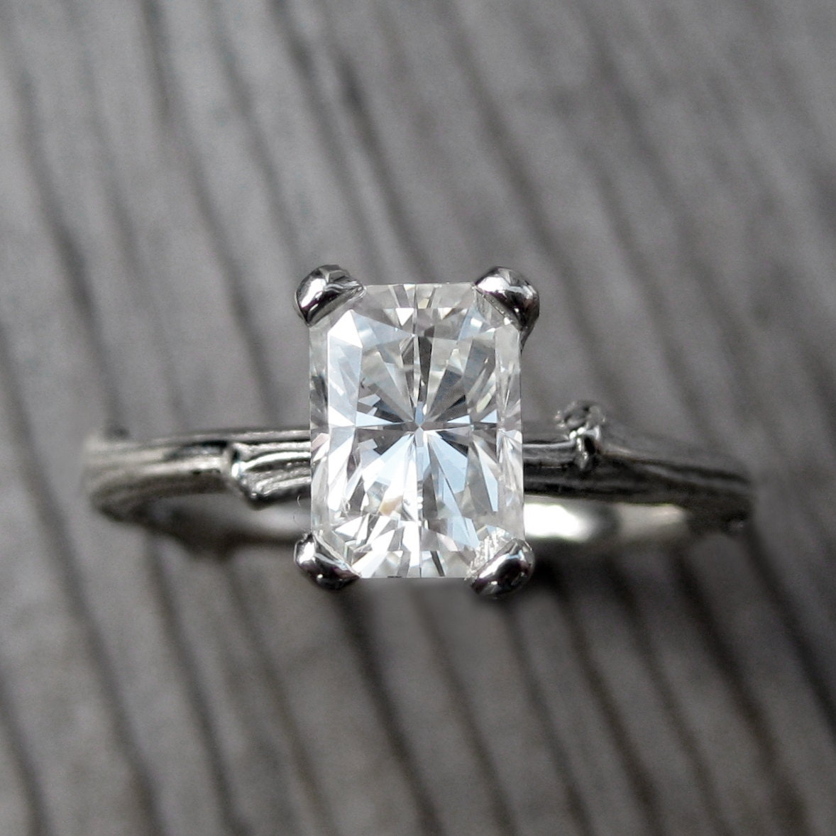 Emerald Cut Celebration Ring