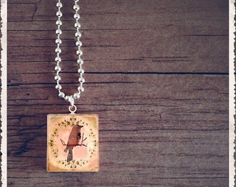 Scrabble Game Tile Jewelry - In The Moment - Scrabble Pendant Charm Necklace - Customize